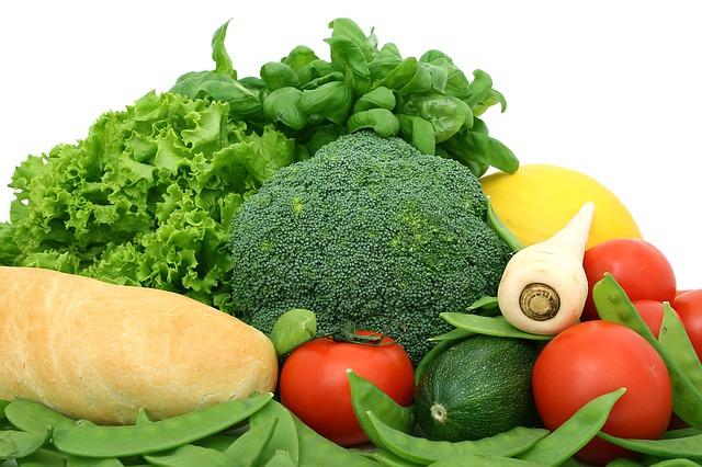 bageta se zeleninou